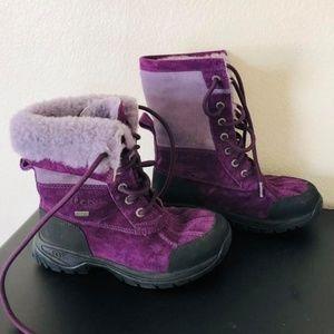 UGG Vibram event waterproof boots girls 1